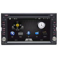 2 DIN Car Stereo+GPS Navigaion+Digital TV DVB-T+IPOD+Bluetooh+FM/AM Radio+AUX+1080P Playing+Support Camera Function