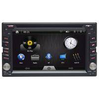 2 DIN Car Stereo+GPS Navigaion+Digital TV DVB-T+IPOD+Bluetooh+FM/AM Radio+AUX+1080P Playing+Support Camera Function