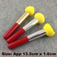 3 Pcs/Lot Cosmetic Makeup Brushes Liquid Cream Foundation Sponge Brush Cosmetic Puff + Free Shipping ( CP - M2 )