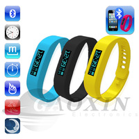 Chic Bluetooth Smart Healthy WristBand Bracelet Sleep step counter Silicone Wristband Running pedometer Watch For Iphone