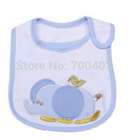 2014 Baby Girl Boy Velcro Waterproof Bib Animal Pattern for 0-2years Old