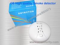 Wholesale Wireless Smoke Alarm Smoke Detector Smoke sensor 100 piece/lot DHL Free shipping