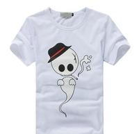 Free Shipping Men's Short-Sleeved T-shirt 2013 New Korean Cotton Round Neck Tide#H126