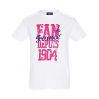 French team 1904 100% Xiaomi cotton Casual Unisex Adult  couples T-shirt
