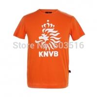 100% Xiaomi Team Netherlands orange storm cotton Casual Unisex Adult  couples T-shirt