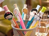 Free Shipping 10PCS/LOT Korea Stationery Cute Lovely Style Ball Pen