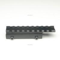 Extended Picatinny Rail Adapter Rifle Gun 11mm Dovetail 20mm Mount Hunt Adaptor