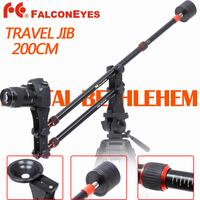 Falcon Eyes Video Travel Jib JG-M1 2m Mini Portable Crane Jib with Counterweight & Bowl Head & Bag