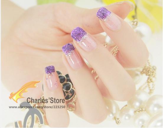 12 colores nuevo 2015 moda Glitter brillante uñas Glitter polvo ...