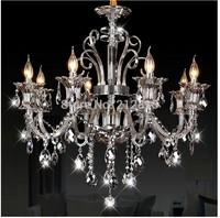 New Arrival Modern Simple Crystal Chandelier Lights / lamps for home modern JP8630/8L
