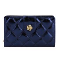 Women's Bright skin wallet genuine leather wallets for women small women handbag Clutch Purse Coin Purse-change walletWFCWL01371