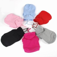 Small Pet clothing Winter hoodie dog clothes Cat Puppy Sports clothes Pet supplies wholesale 20pcs/lot