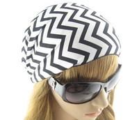 Fashion Wide Black White Stripes Elastic HEADBAND Hair Band Head Wrap Women. 10 pc/lot, Wholesale