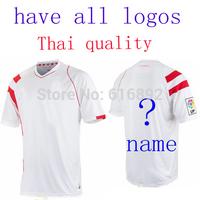 Sevilla jersey 14 15 home thai quality BACCA I.RAKITIC Sevilla 2014/15 soccer jersey football shirt futbol uniform