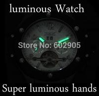 New Arrival Cool Watch JARAGAR Luxury Auto Mechanical Watches 4 Hands Date Tourbillon Clock Men Luminous Mens Wrist Watch