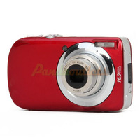 "3.0"" LCD TFT Max 16MP Interpolation 5X Optical Zoom Digital Camera - Red#2100256"