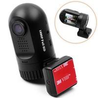 F08251 Mini 0801 Dash Camera Ambarella A2S60 Chip Car DVR Recorder Blackbox + 8GB Full HD 1080P G-sensor GPS  + FreeShip