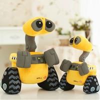 Wholesale/Retail 28*18cm Minion Robot Plush toys WALL E Stuffed Doll Free Shipping