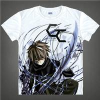 Guilty Crown T-shirt Ouma Shu Cosplay T Shirt Fashion Anime Cotton Tops Tee For Men Women