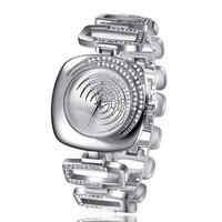 relogio feminino Full Steel Watches Women dress Rhinestone Analog wristwatches montre women Casual watch 2014Ladies Quartz watch