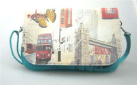 Free shipping Womens handbag  Clutch Purse Lady bag  24*17cm