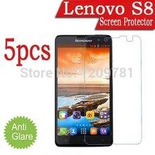 Sale 5pcs Smart Phone Lenovo S8 Screen Protector,Matte Anti-Glare Lenovo S8 LCD Protective Film Cover Guard.Lenovo A60 A529 A356