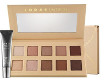 1PCS/LOT 2014 NEW ARRIVAL Makeup Lorac Unzipped 10 colors Eyeshadow Palette With Eye Primer+Free Shipping