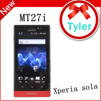 Sony Xperia Sola Sony MT27i 8GB Dual-core 3G GSM WIFI GPS 5MP, Free shipping