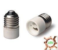 Free Shipping! 6*E27 to GU10 Ceramic socket adapter high quality