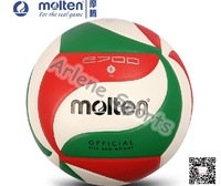 2014 Molten Volleyball ball  V5M2700 High Quality PU Laminated 18 Panels soft touch Offical Size 5 Match VolleyballTraining ball