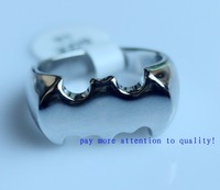 Fashion 1pc New Arrival Good Quality Free shipping Batman Ring Jewelry Ring  The Dark Knight Rises Ring US SIZE9-11