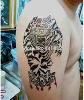 Pro New big size instant waterproof body tattoo temporary tattoo sticker man paint printed, long last 5-7days,SM-H030