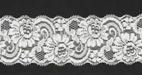 5cm width 25meter/ lot Pretty ivory Floral Elastic Stretch Lace Trim.DIY swiss french garter wedding bridal handband lace ribbon