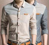 HOT SELLING cotton brand men t shirt fashion cool man print tops 2014 Novelty  M-XXL size 4 color