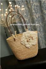 Natural Bolsa de palha , bolsa de mão , bolsas femininas , shippig livre(China (Mainland))