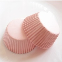 200pcs ON SALE Solid Light Pink Cupcake Liners
