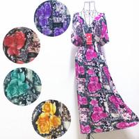 2014 NEW Exclusive Women Short Kaftan Dress Cruise Casual Bohemian Plus size Free shipping