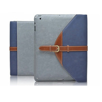 For ipad 4 ipad 2 3 smart leather cover protective case 360 rotating mount button protective shell for ipad 2/3/4 stand holder