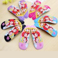 Children hair accessories Fashion Cartoon Hair Pins Hair Clip baby girl hairpins BB clips Small Size BB004