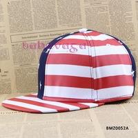 Free Shipping New USA American Flag Snapback Adjustable USA Baseball Hat Cap