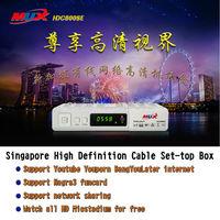 MUXHDC800SE VI for Singapore FYHD800C MVHD800C Singapore cable digital set-top box Starhub DM800