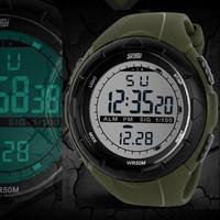 2014 new Top brand Skmei Man sports digital wristwatch, men's waterproof swimming diving outdoor military fashion men watches