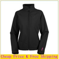 Have Logo Hot Sale Brand Women Apex Bionic Jacket Lady Softshell Windproof and Breathable Jacket Sports Mountaineering Outerwear