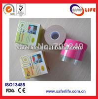 Wholesale order 200pcs get 10 free 5cm x 5m elastic kinesio therapy sports Kinesiology tape Kinesiologia nauha