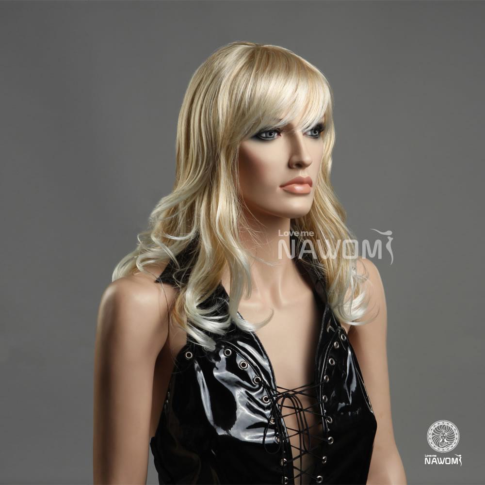 Long Platinum Blonde Wig With Bangs Young,long Platinum Blonde