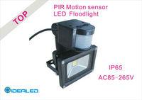 Free shipping by DHL/FEDEX LED Floodlight whit PIR Motion sensor Induction Factory Outlet LED Landscape Lighting