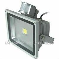 50W LED Floodlight whit PIR Motion sensor Induction Free shipping by DHL/FEDEX LED flood lights LED Landscape Lighting