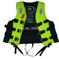 Free Shipping quality 2-6 years yellow old kid/child life vest life jacket life buoy flotation jacket water safety swimming vest