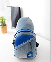 FREE SHIPPING 2014 women's chest pack messenger bag denim canvas handbags shoulder bags