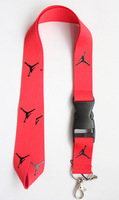 Wholesale 10 pcs Red The Brand Sport Logo lanyard/Neck Strap/Employee's card hanging rope/Lanyard Free shiping